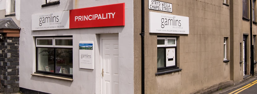 gamlins-porthmadog-solicitors-office
