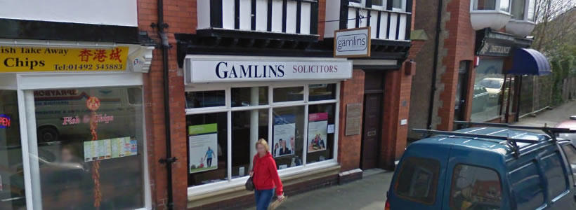 gamlins-rhos-on-sea-solicitors-office