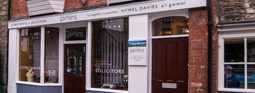 gamlins-bala-solicitors-office