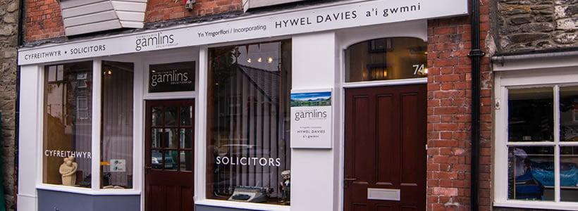 gamlins-bala-solicitors-office